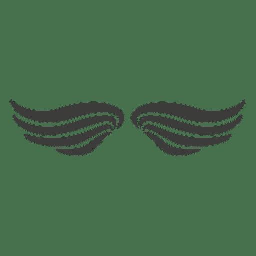 Wide phoenix wings 2 Transparent PNG