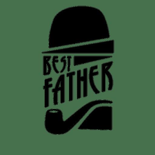 La mejor insignia del día del padre Transparent PNG
