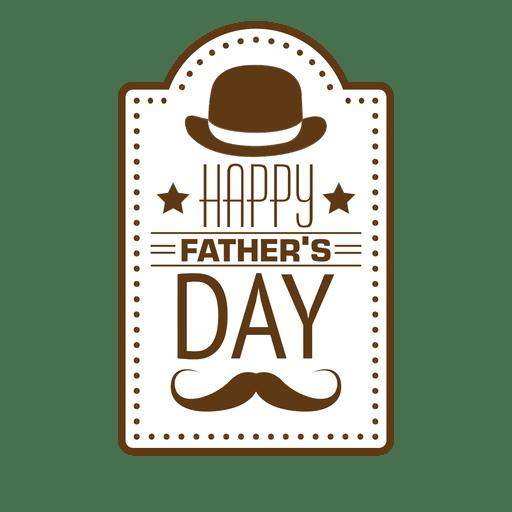 Feliz dia dos pais Transparent PNG