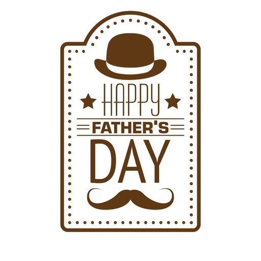 Happy fathers day Transparent PNG