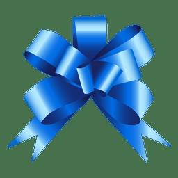 Regalo de arco azul