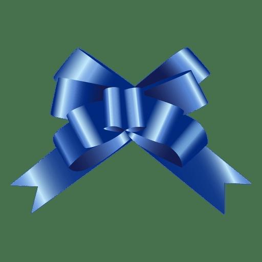 Bow blue Transparent PNG