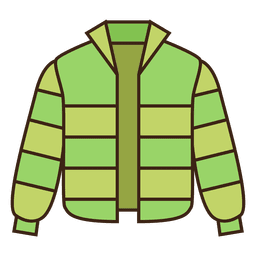 Jacket green coat