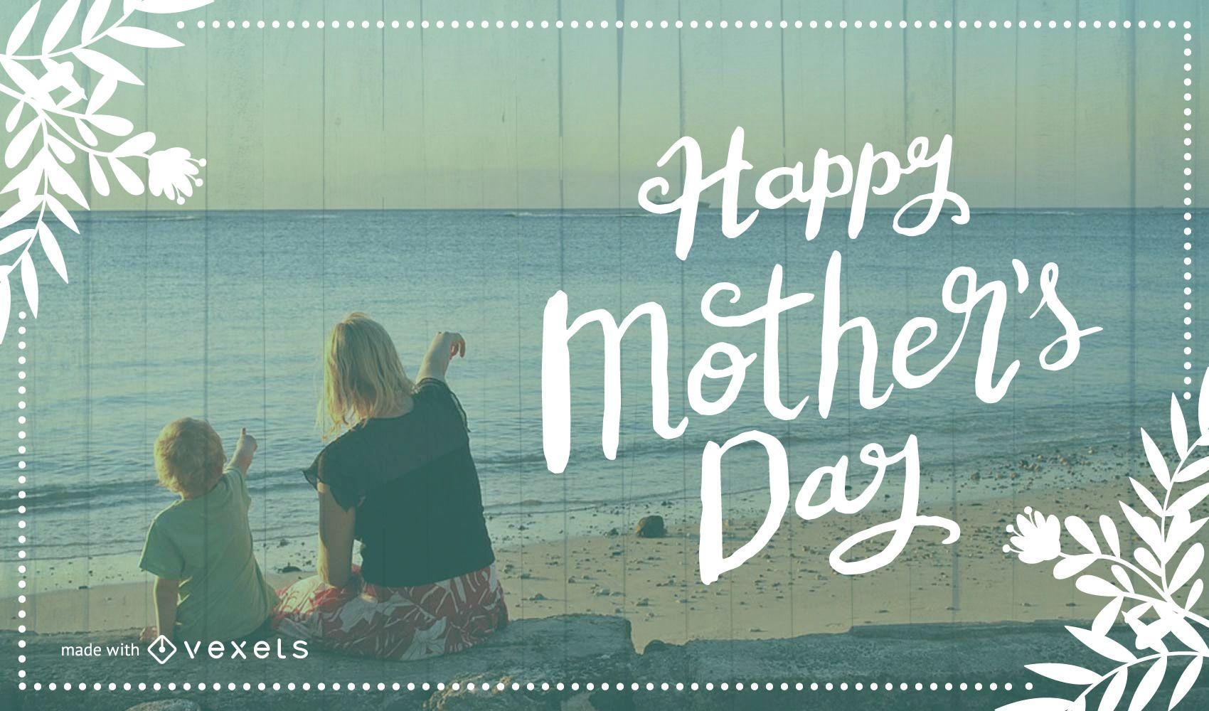 Creador de tarjetas feliz día de la madre