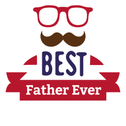 La mejor placa del día del padre del padre