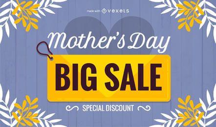 Creador de promociones de venta del día de la madre