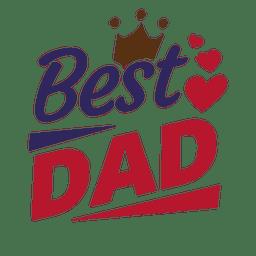 El mejor padre del mensaje del día de padres