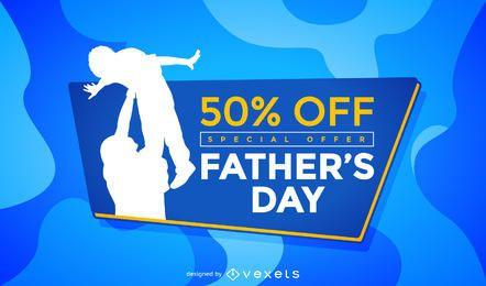 Promoción de venta del día del padre