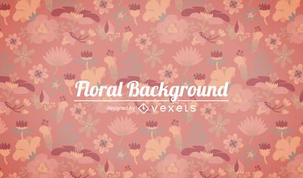 Soft tones floral background