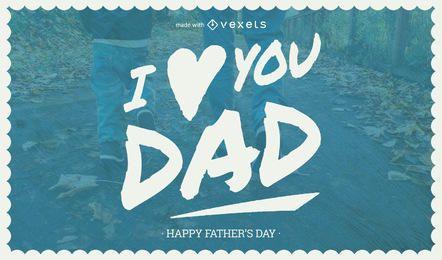 Creador de tarjetas del día del padre
