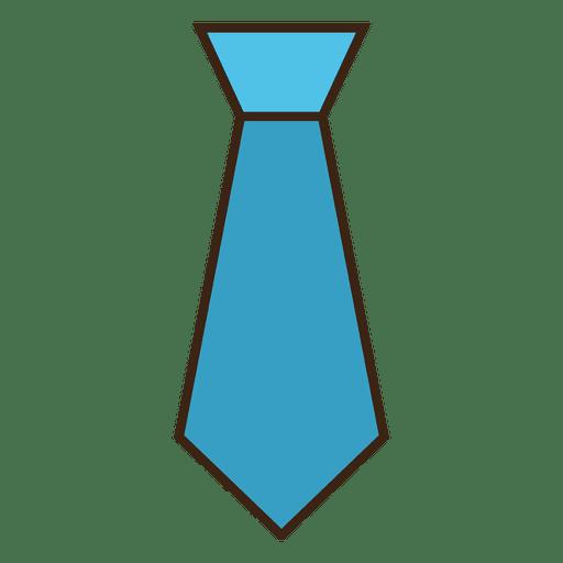 Blue tie clothes png