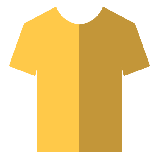 Flat yellow tshirt