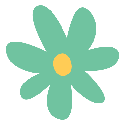 Icon flower doodle illustration