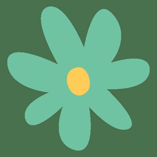 Ilustración de doodle de flor de icono