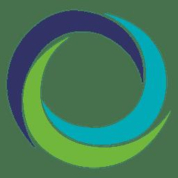 Spinning wirbelt rundes Symbol