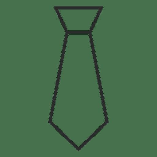Trazo corbata ropa
