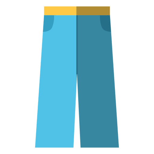 Roupas de brim azul Transparent PNG