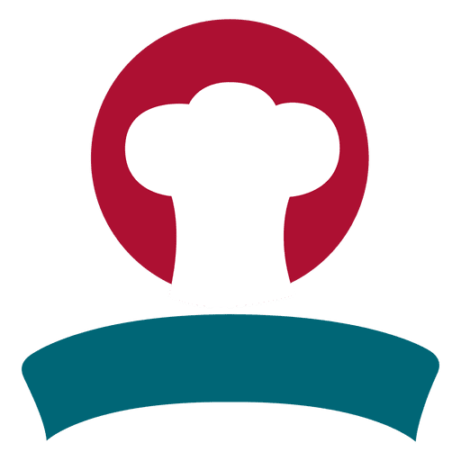 Chef hat ribbon isotype Transparent PNG