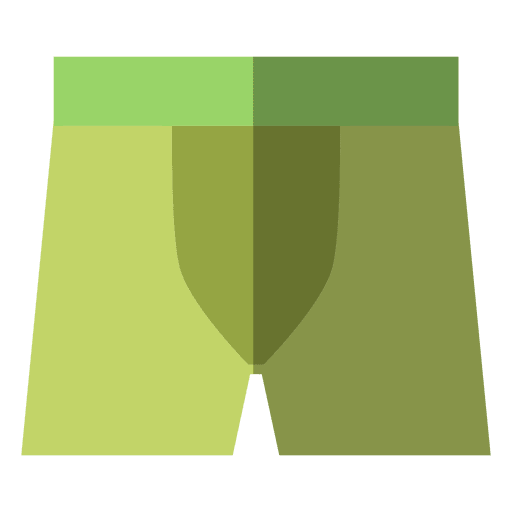 Green underwear clothing Transparent PNG