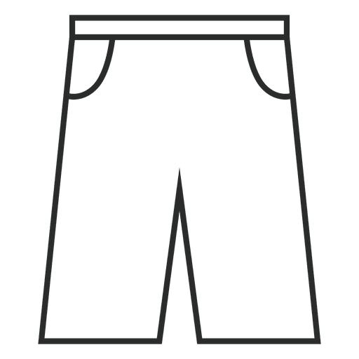 Jeans shorts icon Transparent PNG