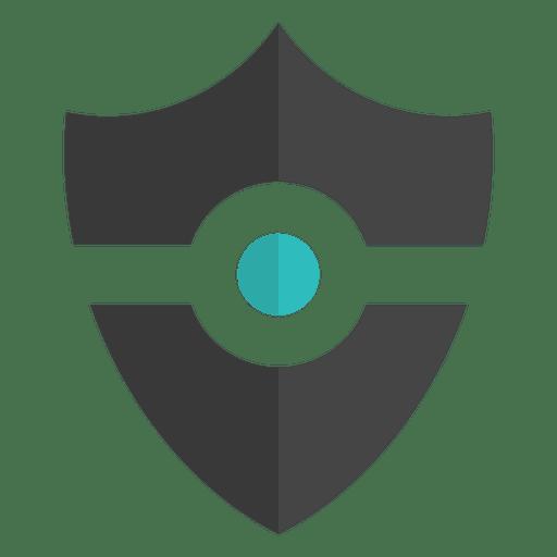 shield emblem flat