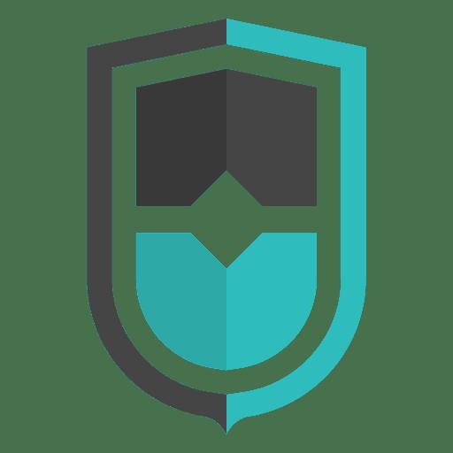 Shield emblem logo icon - Transparent PNG & SVG vector file