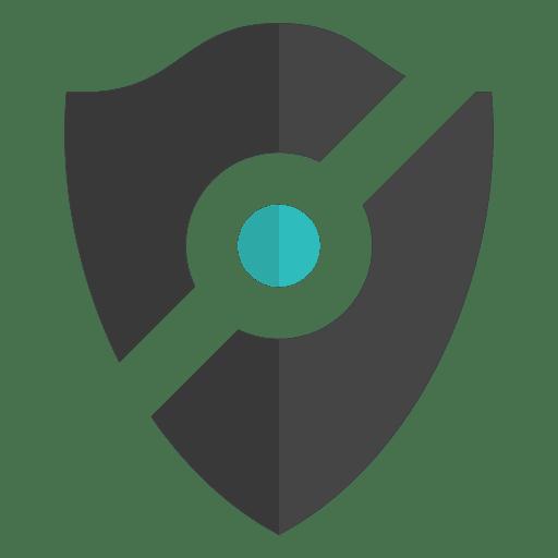Shield icon emblem Transparent PNG