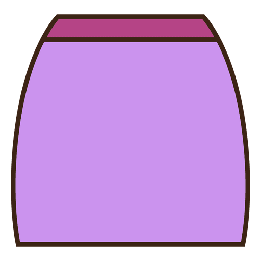 Saia de roupa roxa Transparent PNG