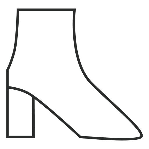 Stroke boots clothing Transparent PNG