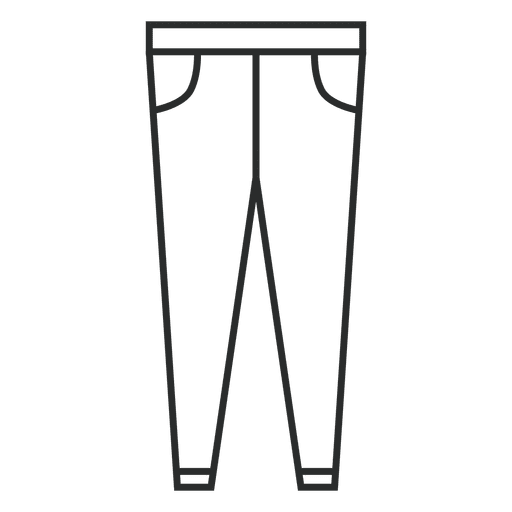 Stroke jean clothing Transparent PNG