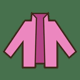 Stroke pink blazer vestuário ícone