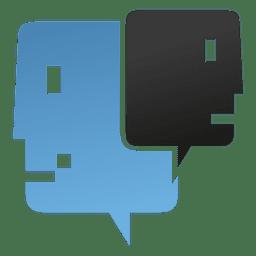 Ícone de avatar cabeça de apoio