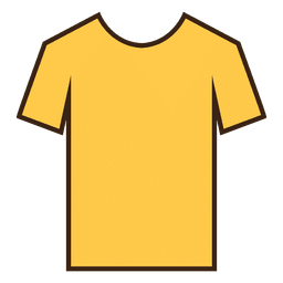 Yellow stroke tshirt clothes
