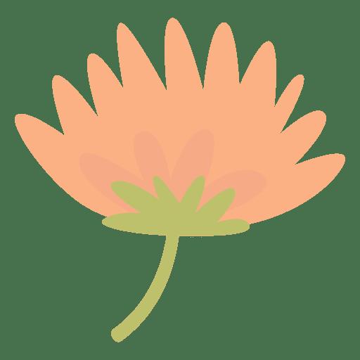 Flat pastel flower doodle