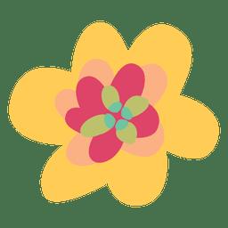 Ilustración de la naturaleza de la flor