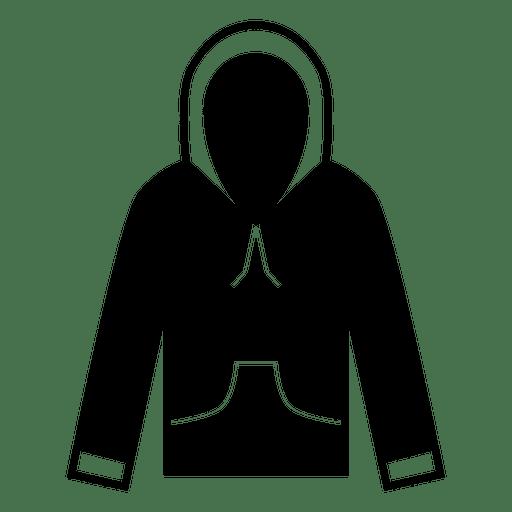 Hoodie blazer silhouette Transparent PNG