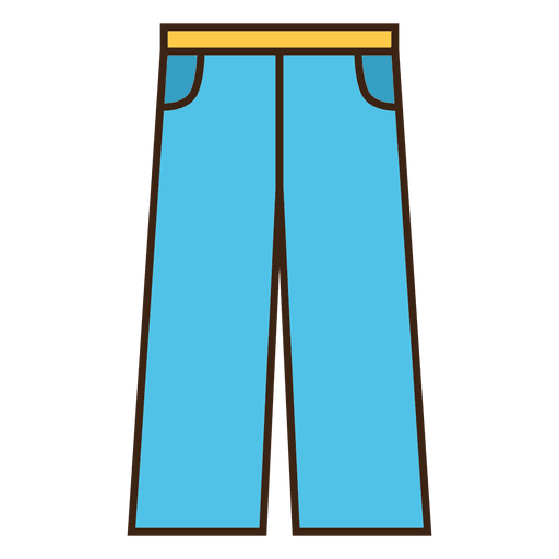 Jean icon flat Transparent PNG