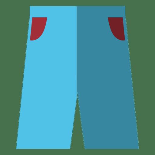 Jean short pockets Transparent PNG