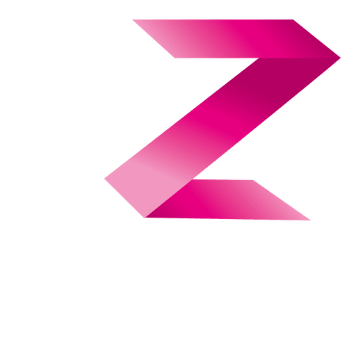 Origami z letter isotype Transparent PNG