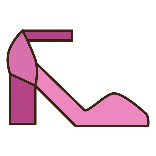Pink shoes heels Transparent PNG