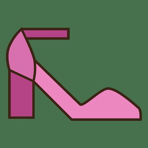 Saltos de sapatos rosa Transparent PNG