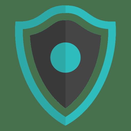 Schild Emblem flache Banner Transparent PNG