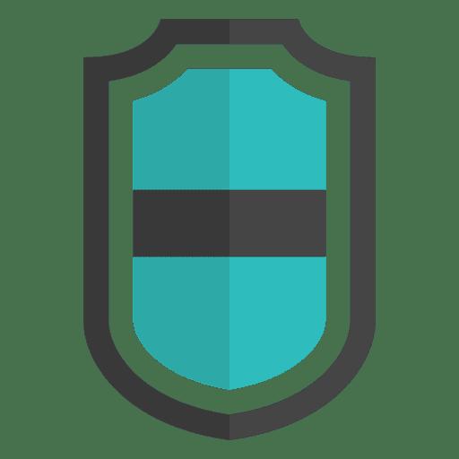Shield emblem flat icon logo banner Transparent PNG