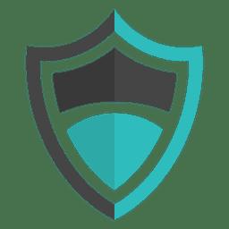 Logotipo do emblema escudo