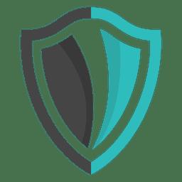 shield logo emblem design transparent png svg vector