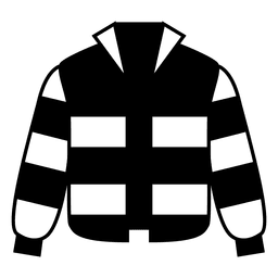 Striped jacket clothing