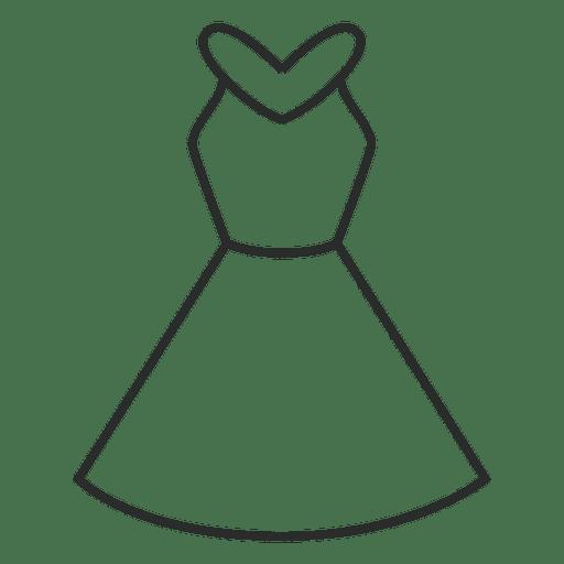 Stroke dress