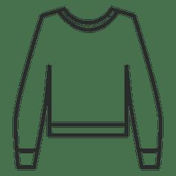 Suéter lineal de trazo