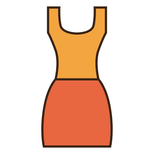 Stroke orange dress clothing Transparent PNG