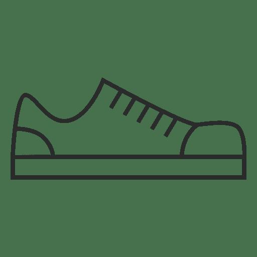 Sapatos de traçado Transparent PNG